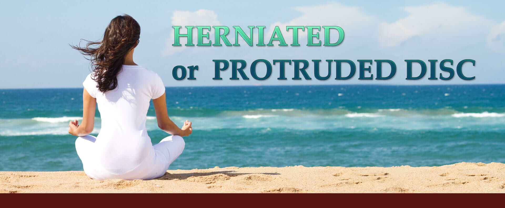 Herniated or protruded disc