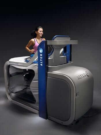 AlterG Anti-Gravity Treadmill Sports Medicine