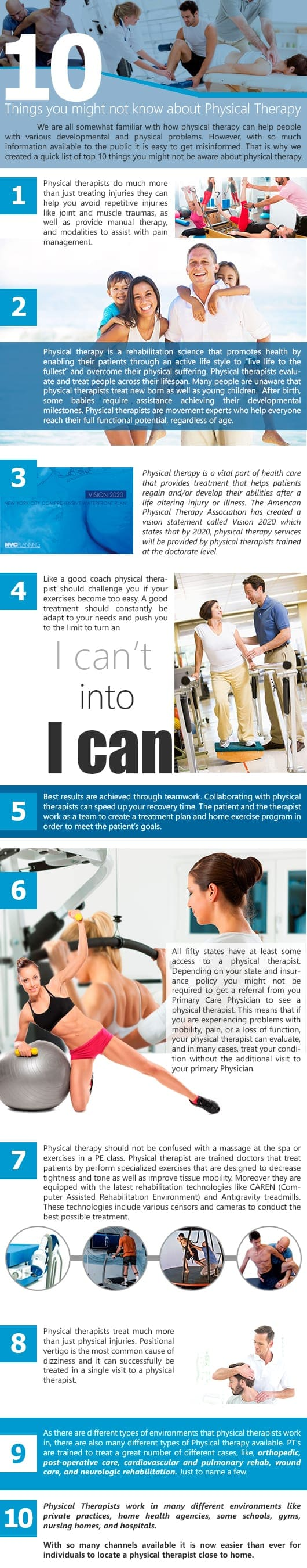 Physical Therapy best things to major in