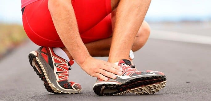 chronic ankle pain