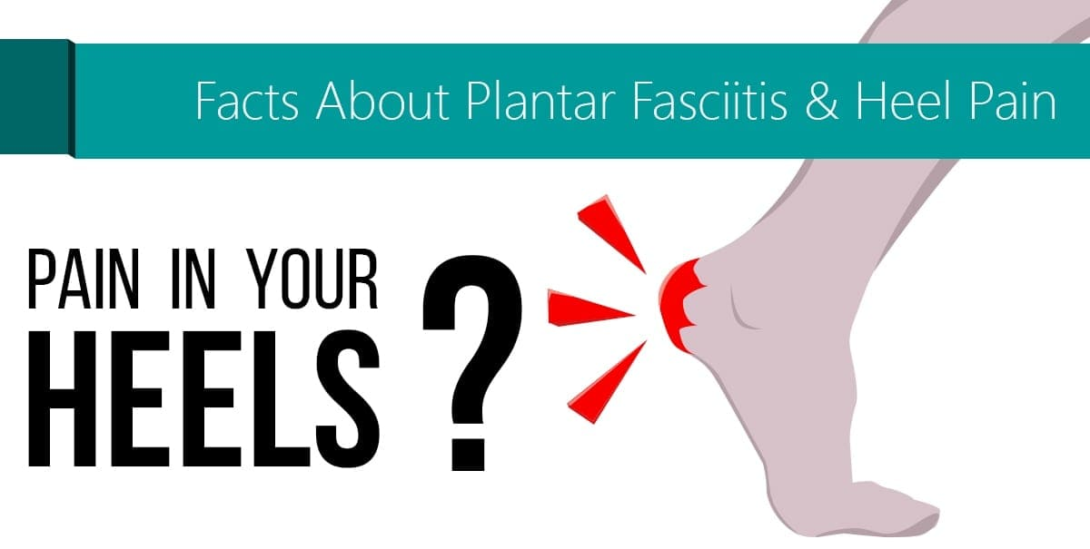 Infographic facts about plantar fasciitis amp heel pain