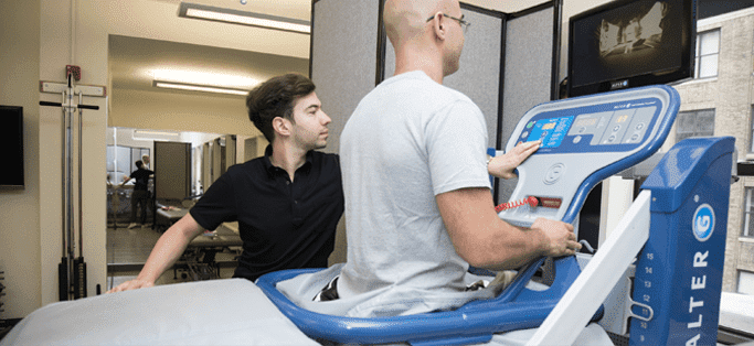 Anti-Gravity Treadmill Reduces Running Pain, Helps Rehabilitate Athletes Blog