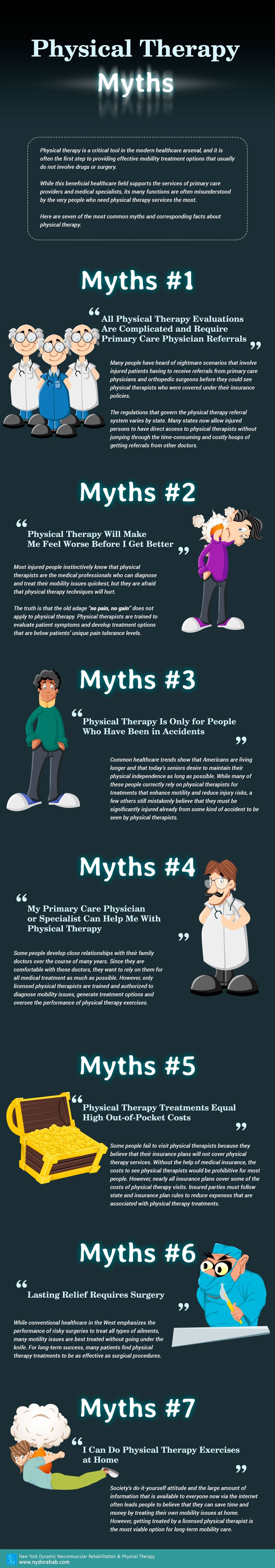 Physical Therapy Myths