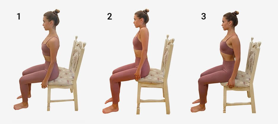 Seated shoulder rolls